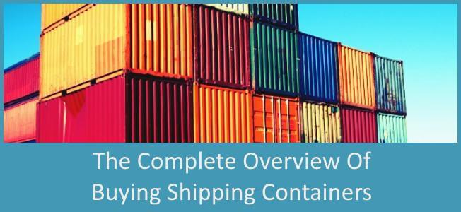 Complete Guide to Buying Shipping Containers Blog Cover