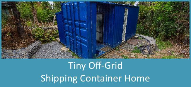 Tiny Off-Grid Shipping Container Palace Costs $24,000USD Blog Cover