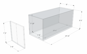 20ft General Purpose Container Dimensions