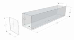 40ft General Purpose Container Dimensions