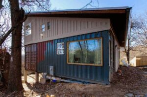 DIY Family Shipping Container Home 2