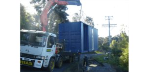 Deliver Shipping Container Home