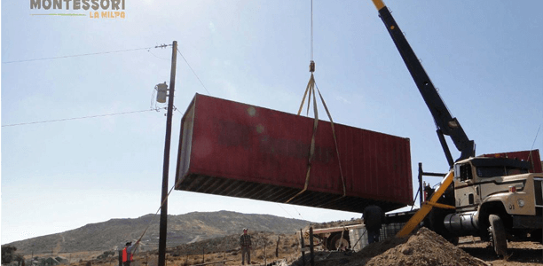 Lifting Cargo Containers In Place