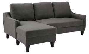 Signature Design by Ashley - Jarreau Contemporary Upholstered Sofa Chaise Sleeper