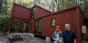 The DeWitt and Kasravi Sea Container Home