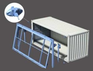 container-door-corner-mount