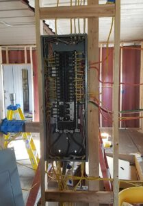 wiring the electrical panel