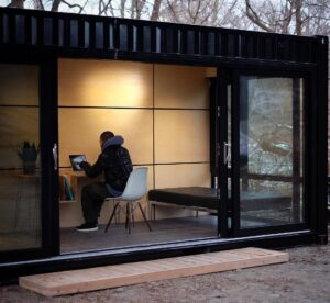 container-man-cave-office-paneling
