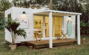 container-she-shed-white-cladding