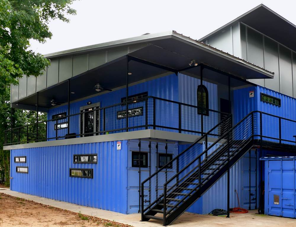 The 19 Boldest Shipping Container Offices Discover Containers