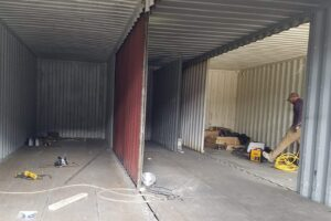 removing container walls