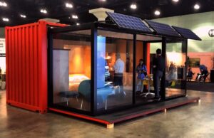 hideout off the grid OTG container cabin