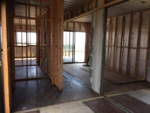 interior-container-home-framing