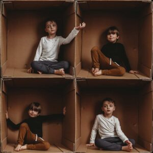 living in boxes