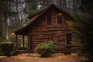 example of a log cabin