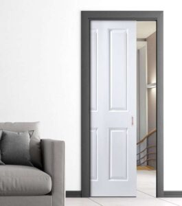 example of a pocket door