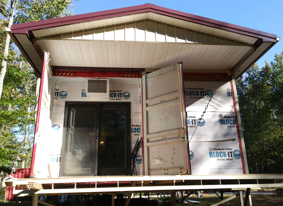 Secure Diy Container Cabin In Ohio Discover Containers