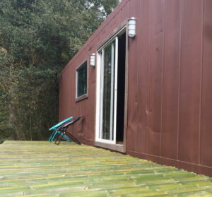 Refrigerated Container Home in Florida