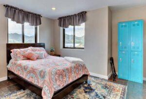 second floor bedroom view