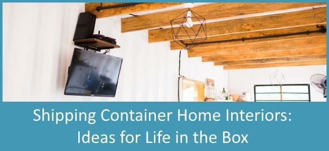 Shipping Container Homes Interior